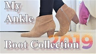 My Ankle Boots Collection 2019 | Vilma Martins