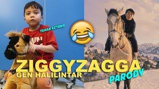 FUNNY VIDEO! Baby Qahtan Parody Ziggy Zagga Gen Halilintar! |  Video By Qahtan
