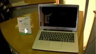 Acer Aspire S3 Ultrabook Hands On (English)