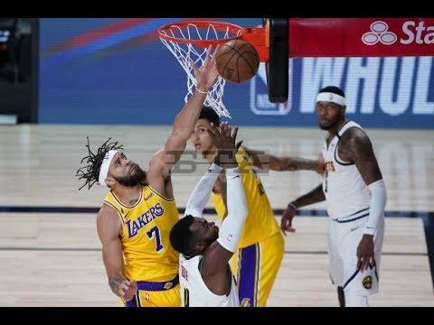 Nuggets Vs Lakers Postgame Reaction KUZMA GAME WINNER | 2020 NBA Restart | August 10, 2020