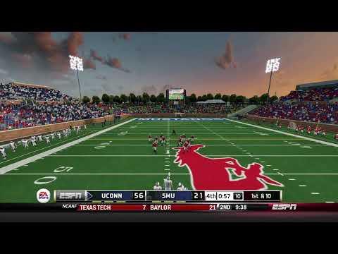 Takethab8 Connecticut Huskies vs Southern Methodist Mustangs  Season 1 Week 12