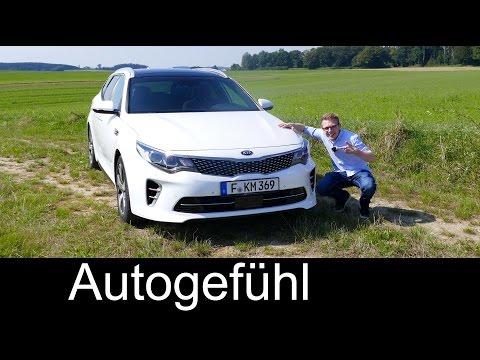 Kia Optima Sportswagon GT Estate 245 hp FULL REVIEW test driven & Plugin-Hybrid