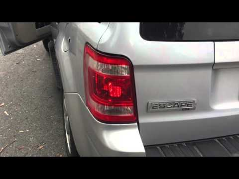 Replacing a Ford Escape Rear Turn Signal