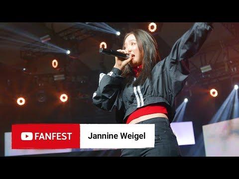 jannine weigel youtube fanfest jakarta 2018