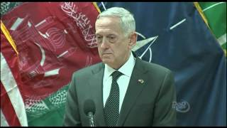 US General Suggests Russia Arming The Taliban - Full News Conference