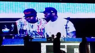 G-Unit & Kidd Kidd - I Smell Pussy & I'm A G (Live @ O2 Arena London 2015)