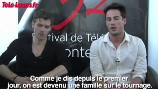 Joseph et Michal T parlent de TVD (VOSTFR)