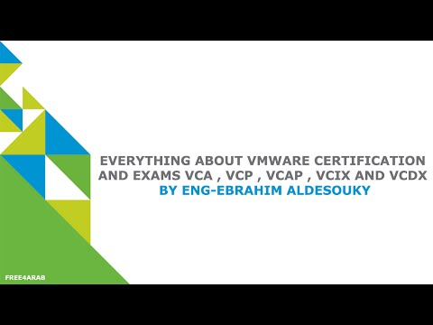 Everything about VMware Certification and Exams VCA , VCP ...