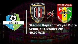Live Streaming Indosiar Liga 1 Indonesia, Bali United Vs Mitra Kukar, Pukul 19.00 WIB