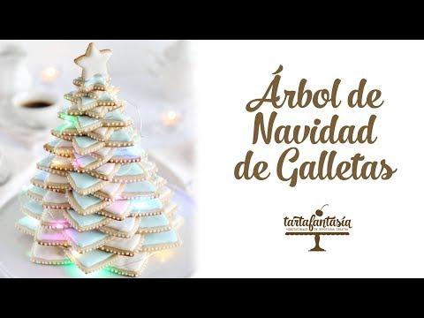 Cómo hacer un Árbol de Navidad de Galletas