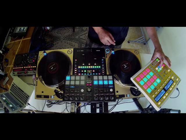 SERATO DJ - FLIP + SLICE +  MASCHINE LINK - Live TRAP - By Fernando Midi