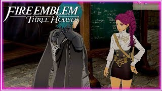 Teaching a Class in Fire Emblem Three Houses