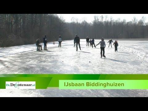 VIDEO | Zelfs de ijsbaan in Biddinghuizen is geopend voor de schaatsliefhebbers