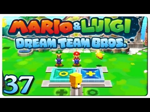 Mario & Luigi Dream Team Bros Gameplay #37 | Bodenpuzzle | DEBITOR