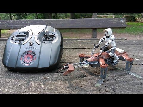 Star Wars Speeder Bike Drohne - Premium RC Quadcopter von Propel // Testbericht & Testflug