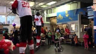 The Hockey Guys at the PoCo Rec  Complex Canada Sports Day Nov  2013