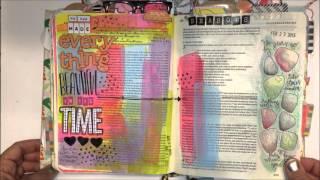 A Flip through my Journaling Bible