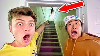 We Found This in the Attic!! (Ghost Caught on Camera)