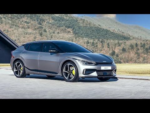 韓国のキア「EV6」が電気自動車の圧倒的な加速でドラッグカーレース、フェラーリやランボルギーニをしのぐ速さを見せる