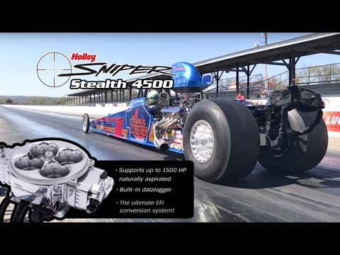 The NEW Holley SNIPER STEALTH EFI 4500 - Holley EFI Engineer Adam Layman