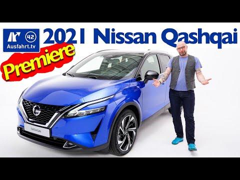 2021 Nissan Qashqai - Sitzprobe, Weltpremiere, kein Test