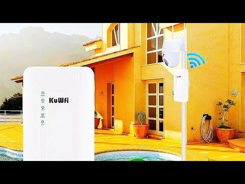 4G уличный WiFi роутер KuWFi / 4G outdoor WiFi router KuWFi