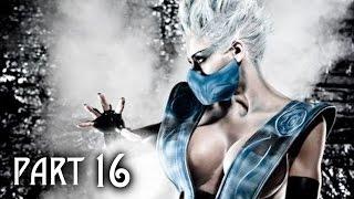 Mortal Kombat X Walkthrough Gameplay Part 16 - Frost - Story Mission 9 (MKX)