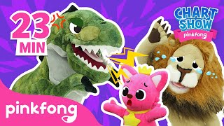 Who is the Strongest❓   Pinkfong Chart Show   Pinkfong Show for Children