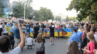 Марш фанатов - Путин х**ло! Сумы.