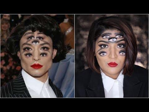 I tried to recreate Priyanka Chopra's Met Gala Look 2019 | Hair