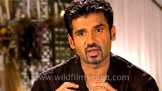 Indian actor Suniel Shetty speaks about his film 'Khel – No Ordinary Game' | Kholo.pk
