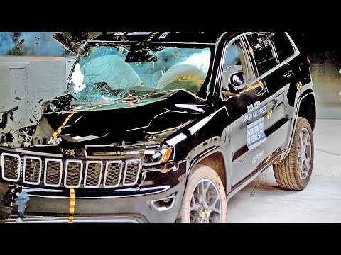 Jeep Grand Cherokee (2018) Bad Result To Crash Test