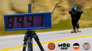 נשבר שיא העולם במהירות רכיבה על סקייטבורד! צפו >>
