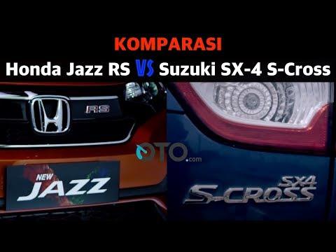 Komparasi Honda Jazz RS vs Suzuki SX-4 S-Cross I OTO.com