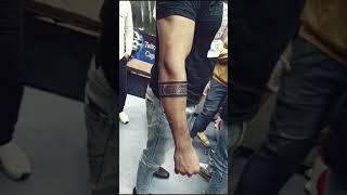 Mom Dad Arm Band Tattoo