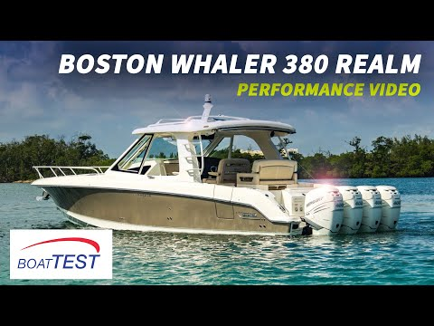 Boston Whaler 380 Realm video