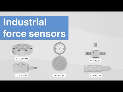 Sensori di forza industriali | Quali sono le tecnologie dei sensori per la misura della forza?