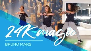 24K Magic - Bruno Mars - Davy Johnes remix - Easy Combat Fitness Dance Baile Choreography