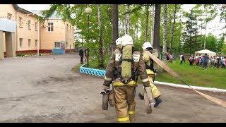 Пожарные учения в Советской Гавани СВТВ