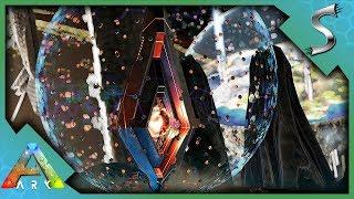 ARK FINAL BOSS FIGHT & ENDING CUTSCENE! OVERSEER BOSS BATTLE & SPACE STATION - Ark: Survival Evolved