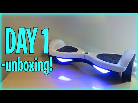 Hoverboard – Day 1: Unboxing Smart Balance Wheel's Flex Hoverboard (FULL REVIEW)