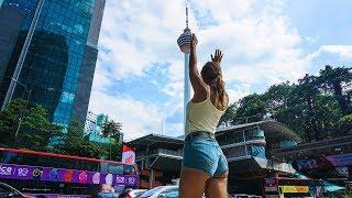 Путешествие в Малайзию. Перелет с Пхукета в Куала Лумпур. Как НАЙТИ свой ОТЕЛЬ среди небоскребов?