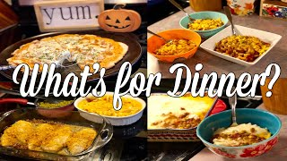 What's for Dinner?| Easy & Budget Friendly Family Meal Ideas| September 2019