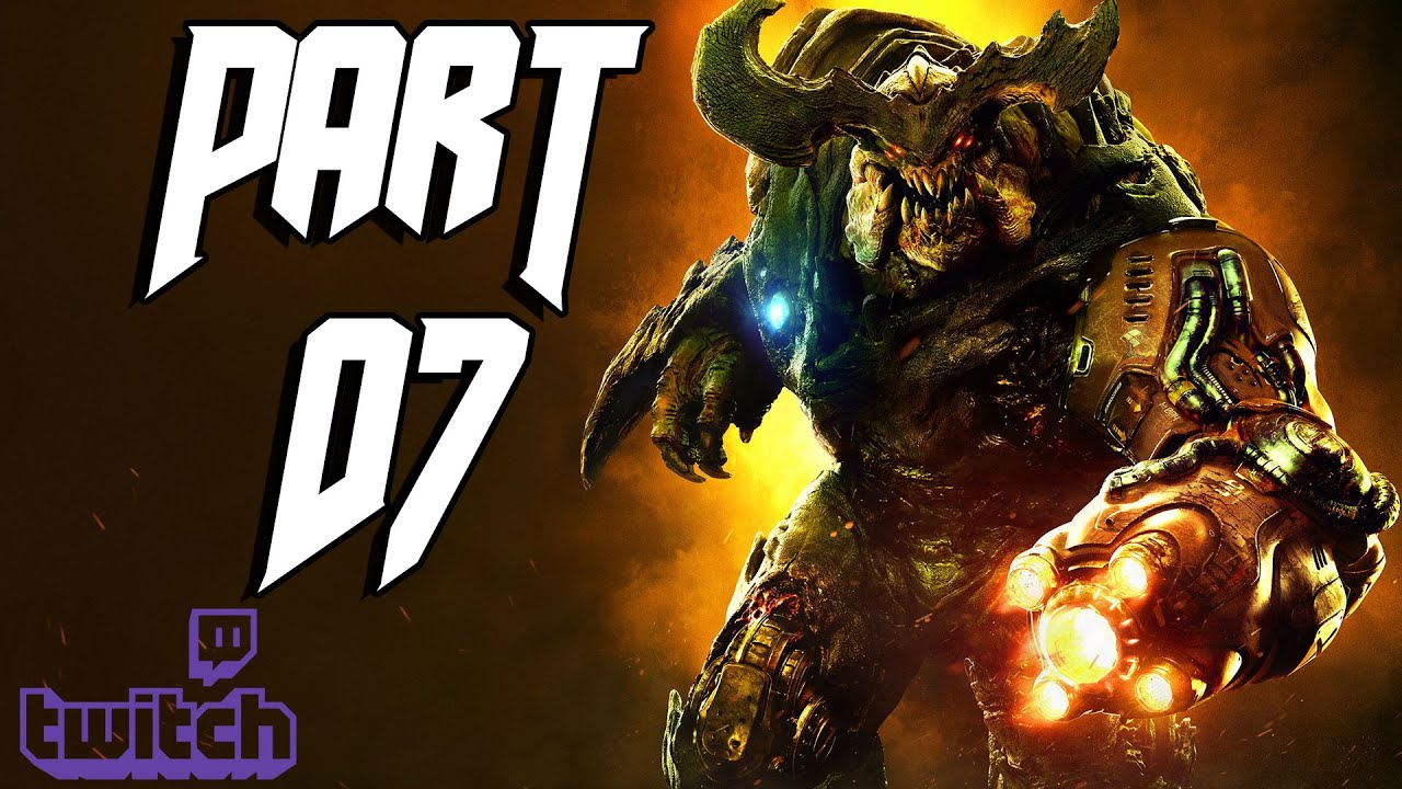 DOOM (PS4) – Part 07 – DOOMsday Livestream