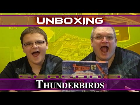 JaqJaq and PaqPaq Unbox Thunderbirds