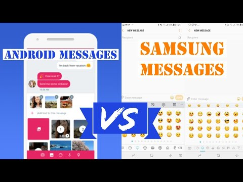 Android Messages vs Samsung Messages