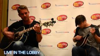 Brett Young 'You Ain't Here To Kiss Me' | Live in the Lobby