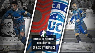 Kansas City Comets vs Utica City FC
