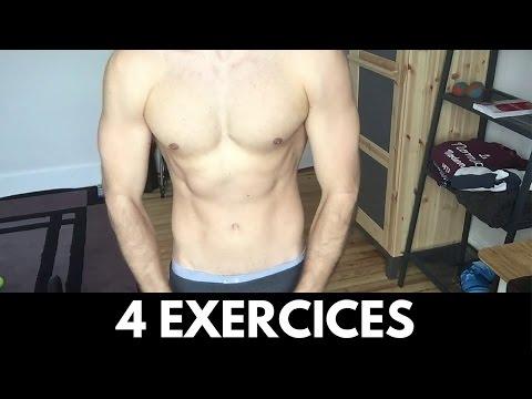 Le bodybuilding de lexercice sur la masse du corps