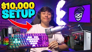 My NEW Gaming SETUP TOUR! ($10,000)